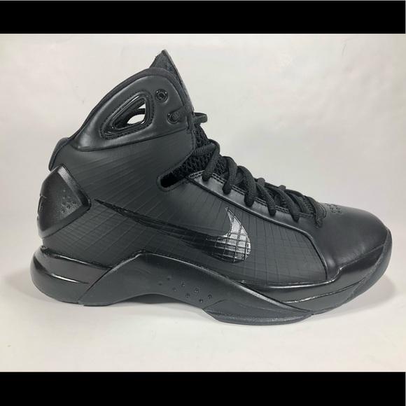 00cc76995626 Nike Men Sz 9.5 Hyperdunk  08 Retro Triple Black. M 5a6b9a8d45b30c202d33697a
